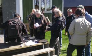 Tävling på gång Foto: Berit Larsson